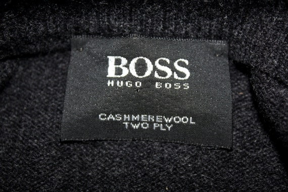 vintage hugo boss kaschmir pullover herren mode pullover. Black Bedroom Furniture Sets. Home Design Ideas