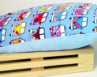 Kids/Children Nursery filled Pillow Cushion Campervan