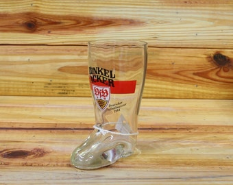 Dinkel Acker Beer Boot Glass.  Box 85
