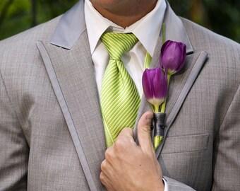 groomsmen boutonniere, rustic wedding, bridal accessories, artificial tulips