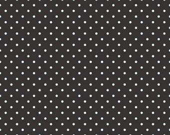 Swiss Dot Black by Riley Blake Designs