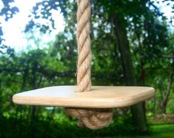 Long Rope Swing, Large Seat, 6 30 Feet (2 10 M