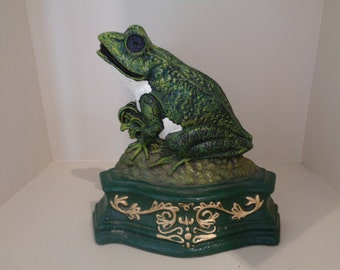 Vintage Country Cast Iron - Frog Doorstop