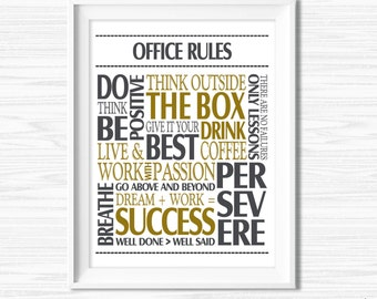 Teamwork Quotes For Work Office Wall Art Success Quotes