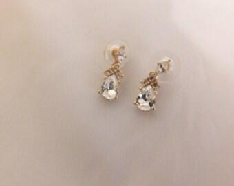 Very Elegant Christian Dior Pierced Earrings