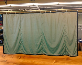 Special Color Stage Curtain/Backdrop/Partition, 8'H x 15'W, Non-FR, Free Shipping, Custom Sizes Available!