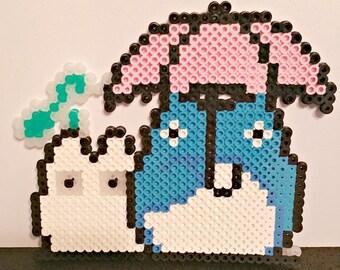 Custom Totoro Perler