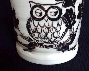Owl tumbler