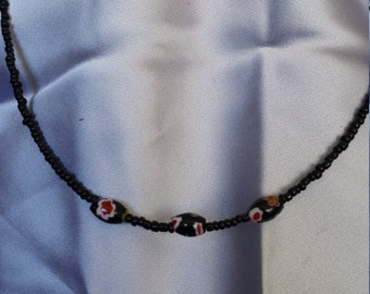 Single strand simple necklace