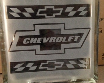 chevy etched block new style