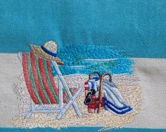 Seaside Escape Beach Tote Bag REDUCED