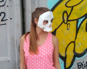 Make your own skull Mask by Dimons