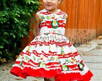 A Grinchy Christmas dress