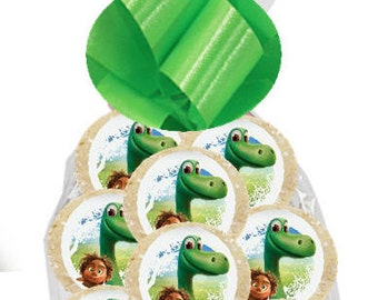 12pack The Good Dinosaur Individually Wrapped Baked Birthday Party Favor Cookies