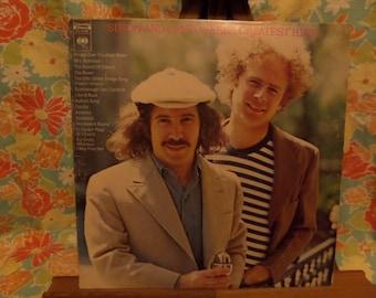 Simon and Garfunkel's Greatest Hits Record LP Album