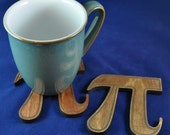 Pi Coaster: Because every Engineer, Physicist, Chemist, Student or Geek needs more Pi in their life