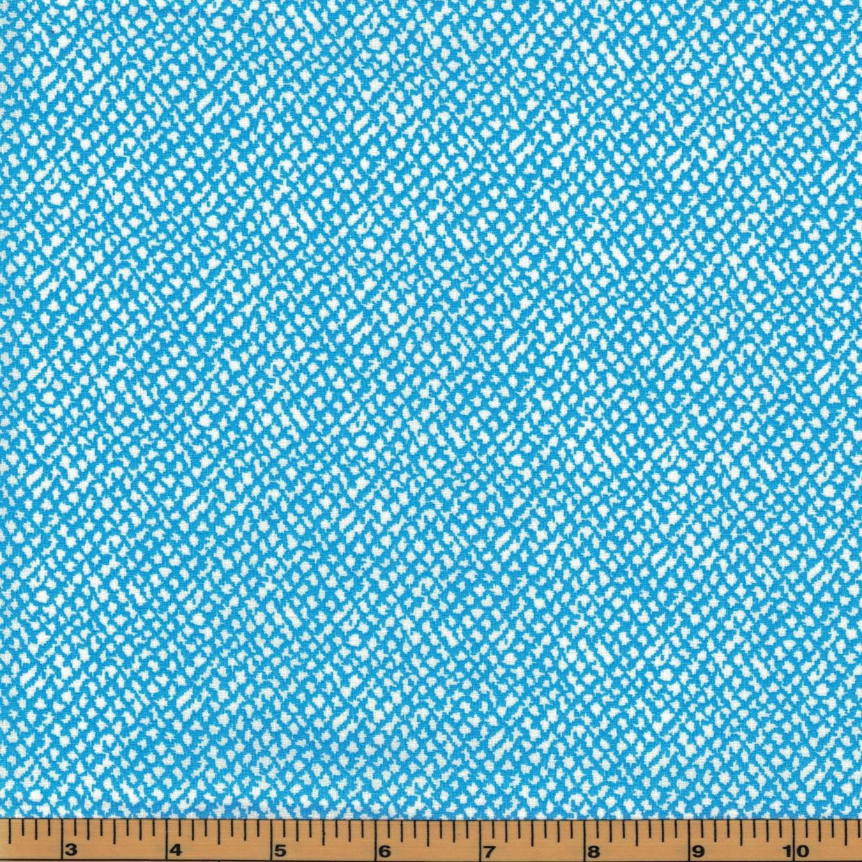 Blue texture urban zoo collection by galaxy fabrics 100 for Galaxy fabric canada