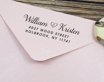 Self Inking Address Stamp, Personalized Stamp, Address Stamp Self Inking, Rubber Address Stamp, Wedding Address Stamp, Wedding Stamp