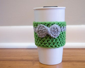 Reusable Drink Sleeve // Wrapped in a Bow