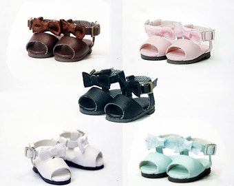 SK Couture Cute Sandals Shoes for Blythe Pullip Lati Yellow Azone 1/8 BJD