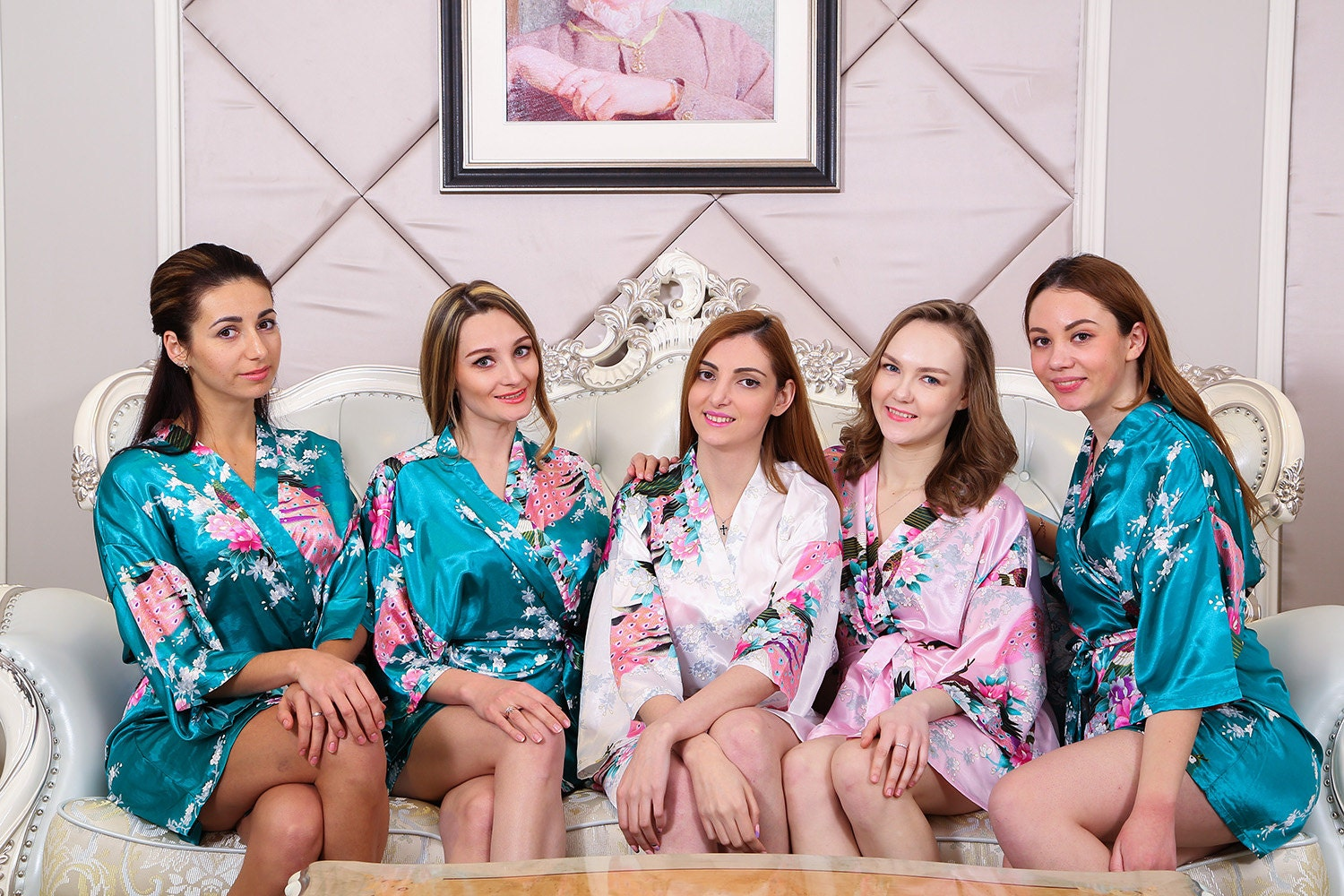 Kimono Robe Bridesmaid Robe Bridal Party Robe Bridesmaid Gift
