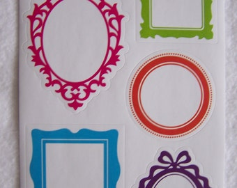 Stickers - paper labels - NEW