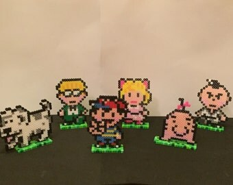 Earthbound Super Nintendo Perler Bead Sprites