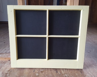 Yellow frame with Chalkboard