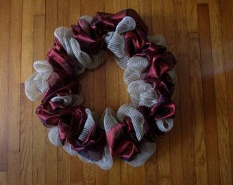 Jute and Ribbon Wreath