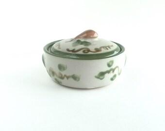 Mid Century John B Taylor Harvest Covered Casserole, Vintage Louisville Pottery John B Taylor Harvest Casserole Dish