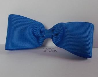 Royal Blue Boutique Style Bowtie Bow