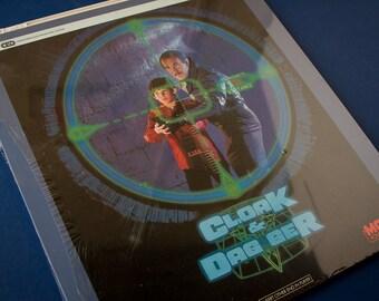 CLOAK & DAGGER (1984) SEALED - Ced Rca VideoDiscs / Retro Tech 80's Films Movies / Wall Art, Display / Dabney Coleman