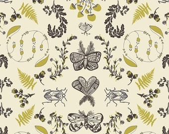 Forest Floor by Art Gallery Fabrics - Nature Study Bark - Cotton Woven Fabric