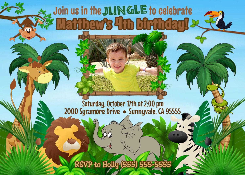 Digital jungle birthday invitation jungle birthday invite safari digital jungle birthday invitation jungle birthday invite safari birthday invitation safari birthday invite filmwisefo