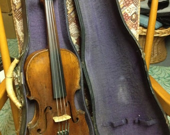 Antique Violin - Very old with great character - Playable!