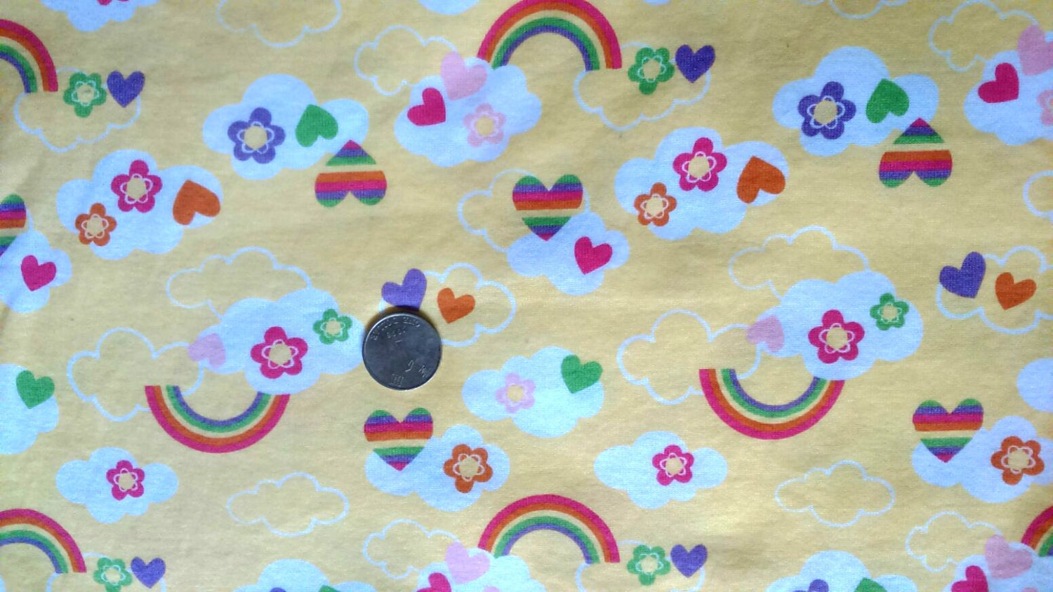 Kids baby print rib knit fabric 100 by someofeverything2015 for Knit fabric childrens prints