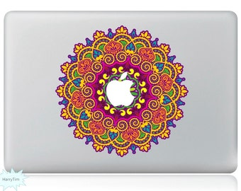 New Colourful Leaves Decal Mac Stickers Macbook Decals Macbook Stickers Apple Decal Mac Decal Stickers Laptop Decal