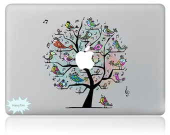 New tree decals mac stickers Macbook decal macbook stickers apple decal mac decal stickers 14
