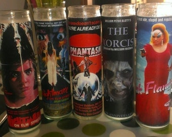 Prayer Candles(horror themed)