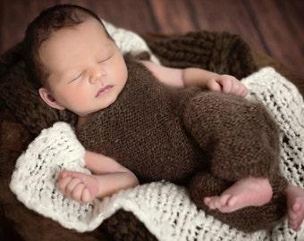 Newborn Photo Prop Romper, Baby Photo Prop, Photo Prop Pants, For Photographers, Baby Boy Photo Props, Infant Photo Prop, Photo Prop Outfit