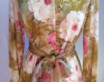 Vintage Amy Adams rose dress