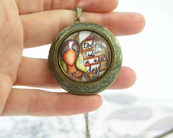 Entente, Perfume Locket, Solid Perfume Locket, Handmade Perfume, Artisan Perfume, Essential Oil Perfume, Natural Perfume, Natural Fragrance