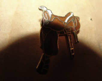 western saddle hat pin