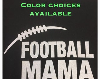 football mom shirt football glitter shirt personalized with your number