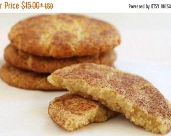 Vegan Snickerdoodle Cookies, Vegan Cookies, Vegan Sweets, Edible Gift, Made to Order, Fresh Cookies, Homemade Cookies