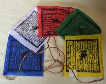 Tibetan Prayer Flags for healing, Reiki and meditation