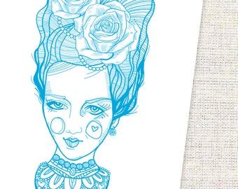 Marie Antoinette Inspired Art Print