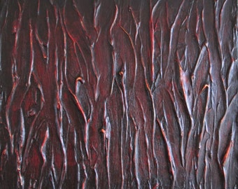 "Original Modern Acrylic Abstract Painting 10""x12"""