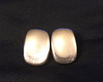 925 sterling sliver clip on earrings