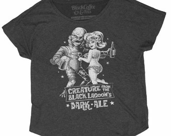 Women's Creature from the Black Lagoon Shirt